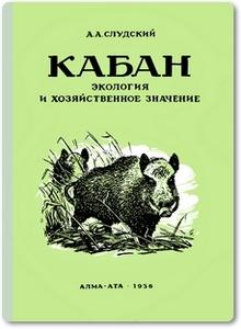 Кабан: Экология и хозяйственное значение - Слудский А. А.